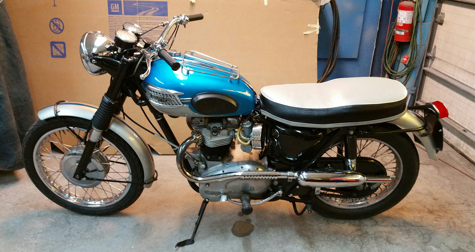 Vintage Motorcycle Restoration Sales Parts Service, MA RI ...